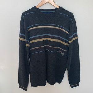 Billabong Striped Crewneck Sweater